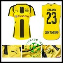 Compra Uniformes De Futebol Kagawa Borussia Dortmund Feminina 2016/2017 I Mais Barato Online
