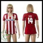 Atlético Madrid Camisa Gabi 2015/2016 I Feminina