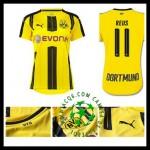 Loja Uniforme Futebol Reus Borussia Dortmund Feminina 2016-2017 I Online Store
