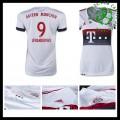 Camisas De Futebol Bayern München (9 Lewandowski) 2015-2016 Ii Feminina