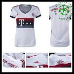 Camisa Futebol Bayern München 2015/2016 Ii Feminina