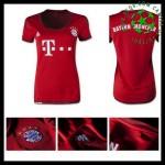 Camisas Futebol Bayern München 2015 2016 I Feminina