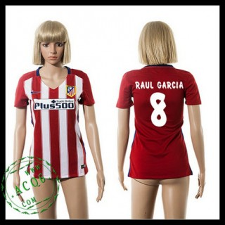 Atlético Madrid Camisas De Futebol Raul Garcia 2015 2016 I Feminina