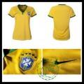Camisas De Futebol Brasil 2015-2016 I Feminina