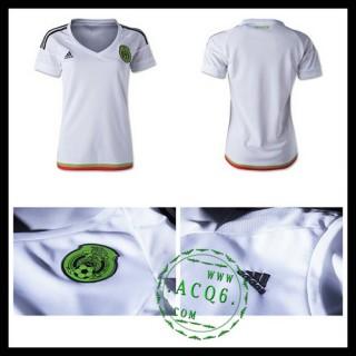 Camisa Futebol México 2015-2016 Ii Feminina
