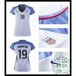 Comprar Camisas Futebol Johnston Usa Feminina 2016-2017 I Loja On-Line