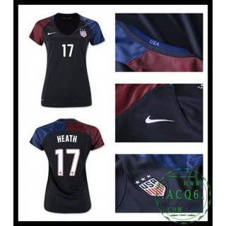 Compra Camisas Futebol Heath Usa Feminina 2016 2017 Ii Loja On-Line
