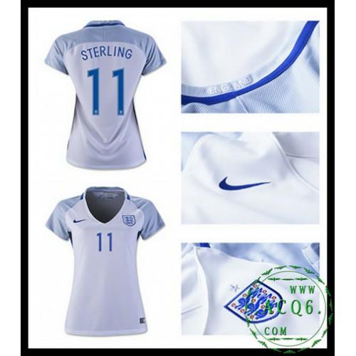 2edb25bf69d39 Compra Camisas De Futebol Sterling Inglaterra Feminina Euro 2016 2017 I  On-Line