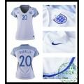 Compra Camisas Futebol Barkley Inglaterra Feminina Euro 2016/2017 I On-Line