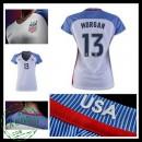 Camisa Futebol Eua Morgan 2016-2017 I Feminina