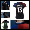 Uniformes Futebol Eua Morgan 2016/2017 Ii Feminina