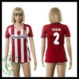 Atlético Madrid Camisetas Gooin 2015 2016 I Feminina