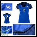Camisas Futebol França Zidane Euro 2016/2017 I Feminina