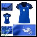 Camisa Du Futebol França Matuidi Euro 2016/2017 I Feminina
