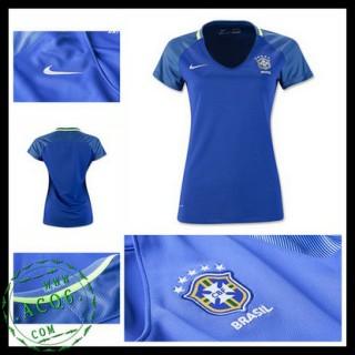 Camisa De Futebol Brasil 2016-2017 Ii Feminina