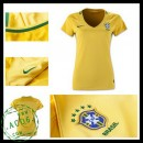 Camisas Brasil 2016/2017 I Feminina