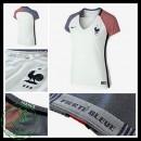 Camisa Futebol França Euro 2016/2017 Ii Feminina