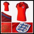 Camisas Inglaterra Euro 2016/2017 Ii Feminina