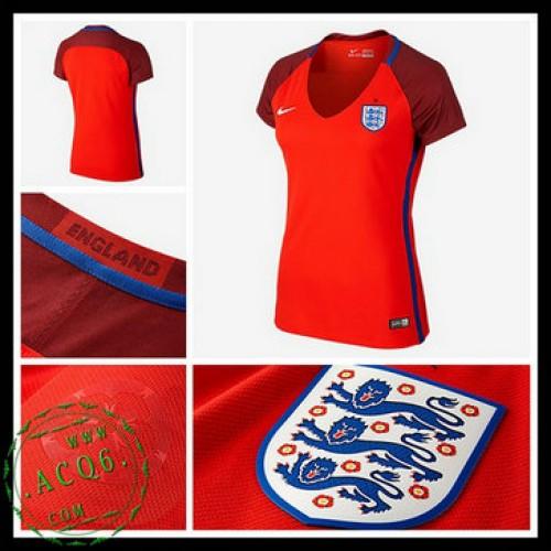 b13b74e7d8c50 Camisas Inglaterra Euro 2016 2017 Ii Feminina - camisolas de futebol ...