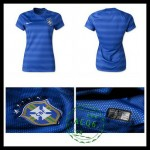 Camisas Futebol Brasil 2015 2016 Ii Feminina